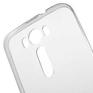 Ultra Tenký slim obal pre Asus Zenfone 2 Laser - šedý - 5