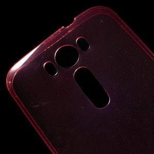 Ultra Tenký slim obal na Asus Zenfone 2 Laser - červený - 5