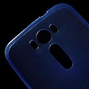 Ultra Tenký slim obal na Asus Zenfone 2 Laser - modrý - 5