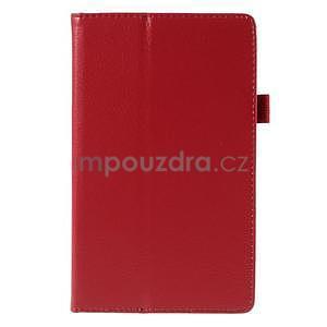 Koženkové puzdro na tablet Asus ZenPad 7.0 Z370CG - červené - 5