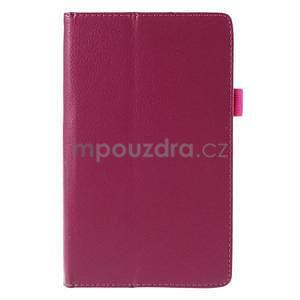 Koženkové puzdro pre tablet Asus ZenPad 7.0 Z370CG - rose - 5