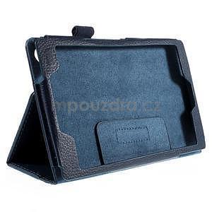 Koženkové puzdro pre tablet Asus ZenPad 7.0 Z370CG - tmavomodré - 5