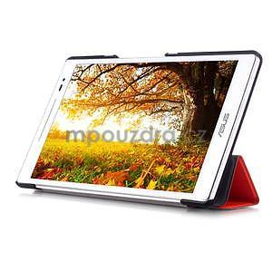 Trojpolohové puzdro na tablet Asus ZenPad 8.0 Z380C - oranžové - 5