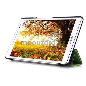 Trojpolohové puzdro pre tablet Asus ZenPad 8.0 Z380C - zelené - 5