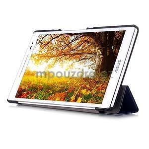 Trojpolohové puzdro pre tablet Asus ZenPad 8.0 Z380C - tmavomodré - 5