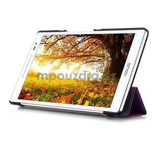Trojpolohové puzdro na tablet Asus ZenPad 8.0 Z380C - fialové - 5