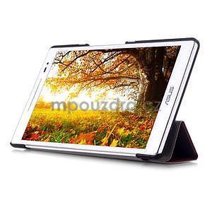 Trojpolohové puzdro na tablet Asus ZenPad 8.0 Z380C - hnedé - 5
