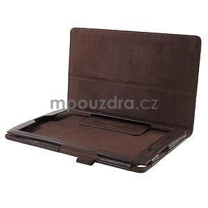 Safety polohovateľné puzdro pre tablet Asus ZenPad 8.0 Z380C - hnedé - 5