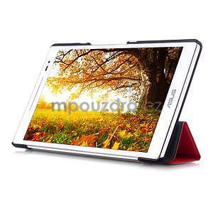 Trojpolohové puzdro na tablet Asus ZenPad 8.0 Z380C - červené - 5