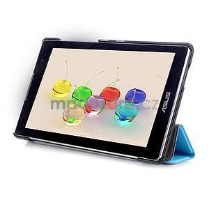 Trifold puzdro na tablet Asus ZenPad C 7.0 Z170MG - svetlemodré - 5