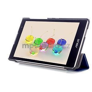 Trifold puzdro pre tablet Asus ZenPad C 7.0 Z170MG - tmavomodré - 5