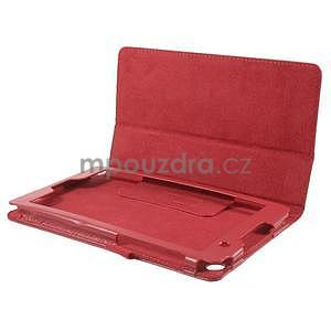 Safety koženkové puzdro na Asus ZenPad C 7.0 Z170MG - červené - 5