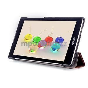 Trifold puzdro na tablet Asus ZenPad C 7.0 Z170MG - hnedé - 5
