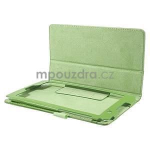 Safety koženkové puzdro na Asus ZenPad C 7.0 Z170MG - zelené - 5