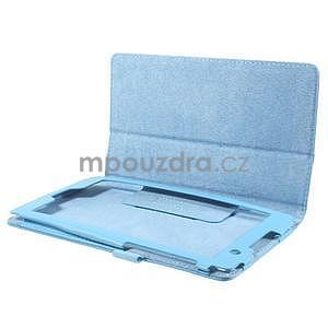 Safety koženkové puzdro na Asus ZenPad C 7.0 Z170MG - svetlomodré - 5