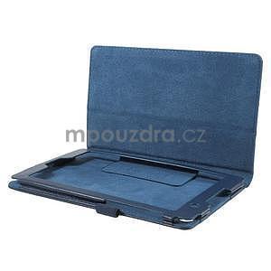 Safety koženkové puzdro pre Asus ZenPad C 7.0 Z170MG - tmavomodré - 5