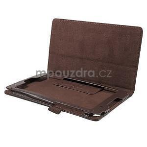Safety koženkové puzdro pre Asus ZenPad C 7.0 Z170MG - hnedé - 5