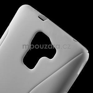 Biely gélový kryt S-line na Huawei Honor 7 - 5