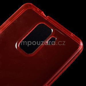 Transparentný gélový obal na telefón Honor 7 - červený - 5