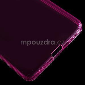 Transparentný gélový obal pre telefon Honor 7 - rose - 5