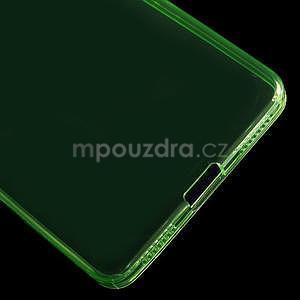 Transparentný gélový obal pre telefón Honor 7 - zelený - 5