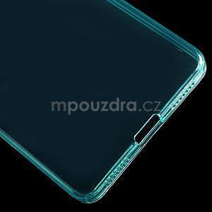 Transparentný gélový obal na telefón Honor 7 - azurový - 5