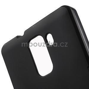 Čierne gélové puzdro na mobil Honor 7 - 5