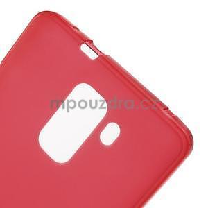 Červené gélové puzdro na mobil Honor 7 - 5