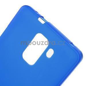 Modré gélové puzdro na mobil Honor 7 - 5