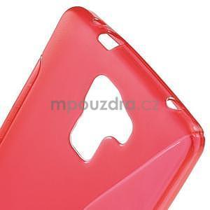 Červený gélový kryt S-line pre Huawei Honor 7 - 5