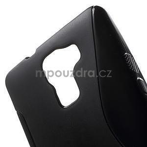 Čierny gélový kryt S-line na Huawei Honor 7 - 5