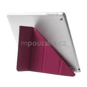 Origami ochranné puzdro na Apple iPad Air - rose - 5