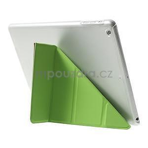 Origami ochranné puzdro na Apple iPad Air - zelené - 5
