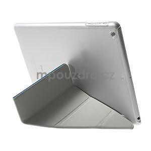 Origami ochranné puzdro pre Apple iPad Air - svetlomodré - 5