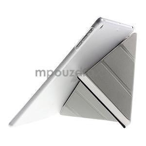 Origami ochranné puzdro na Apple iPad Air - fialové - 5