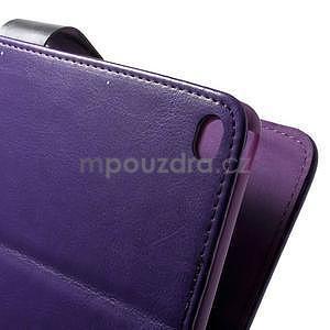 Daffi elegantné puzdro pre iPad Air 2 - fialové - 5