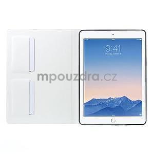 Elegant polohovateľné puzdro pre iPad Air 2 -  biele - 5