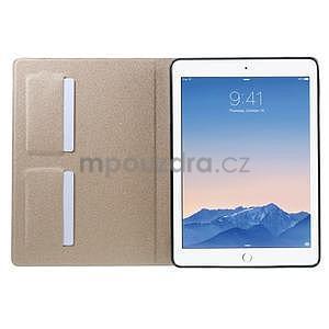 Elegant polohovateľné puzdro pre iPad Air 2 -  champagne - 5