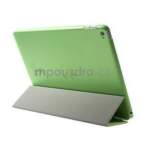 Trifold polohovateľné puzdro pre iPad Air 2 - zelené - 5