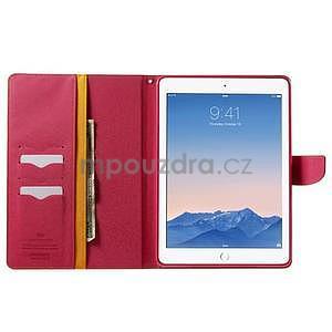 Excelent Diary puzdro pre iPad Air 2 - oranžový - 5