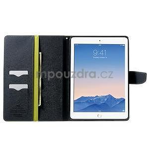 Excelent Diary puzdro pre iPad Air 2 - zelené - 5