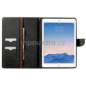 Excelent Diary puzdro pre iPad Air 2 - hnedé - 5