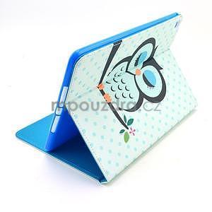 Ochranné puzdro pre tablet iPad Air 2 - sova - 5