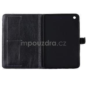 Fashion style puzdro na iPad Air 2 - čierne - 5
