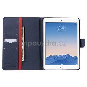 Excelent Diary puzdro pre iPad Air 2 - červené - 5
