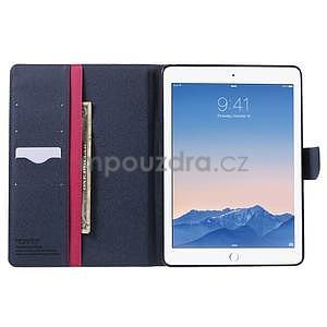 Excelent Diary puzdro pre iPad Air 2 - rose - 5