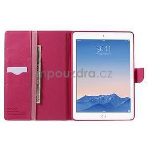 Excelent Diary puzdro pre iPad Air 2 - ružové - 5