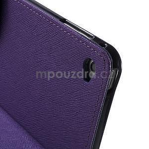 Excelent Diary puzdro pre iPad Air 2 - fialové - 5