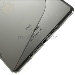 S-line gélový obal pre iPad Air 2 - sivý - 5