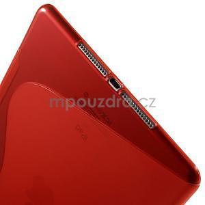 S-line gélový obal pre iPad Air 2 - červený - 5